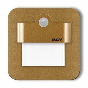 LED svítidlo Skoff Salsa mat.mosaz neutrální 230V MM-SAL-M-N s čidlem pohybu