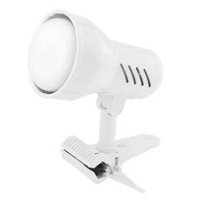 Lampička s klipem Sandria E14 malá bílá