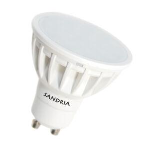 LED žárovka Sandy LED GU10 Sandria S1444 7W teplá bílá