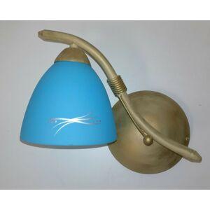 Nástěnné svítidlo Sigma 04606 POLO zlatá/modrá