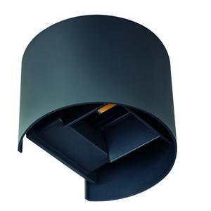 Nástěnné venkovní LED svítidlo Kanlux REKA 28991 EL 7W-O-GR grafit
