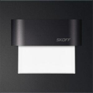 LED nástěnné svítidlo Skoff Tango černá studená 10V MH-TAN-D-W IP66