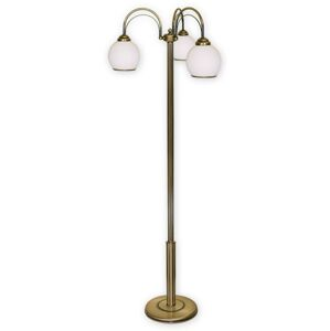 Stojací lampa Lemir 339/L3 KORAL patina
