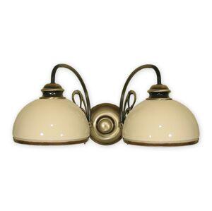 Nástěnné svítidlo Lemir 511/K2 DELTA patina