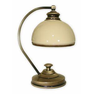 Stolní lampička Lemir 518/L1 DELTA patina
